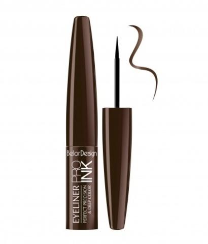 BelorDesign Pro Ink Подводка для глаз тон 2 (шоколадная)