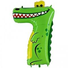 Г Цифра, 7 Крокодил, в упаковке, 40