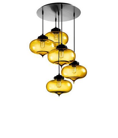 replica Niche Modern  Circular Minaret chandelier (5 lamps)