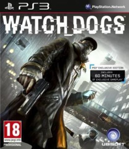 PS3 Watch Dogs (русская версия)