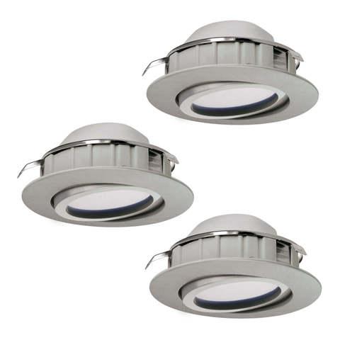 Комплект светильников светодиодных встраиваемых регулируемых Eglo PINEDA 95853