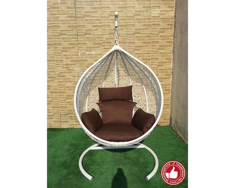 Плетеное кресло Арриба белое