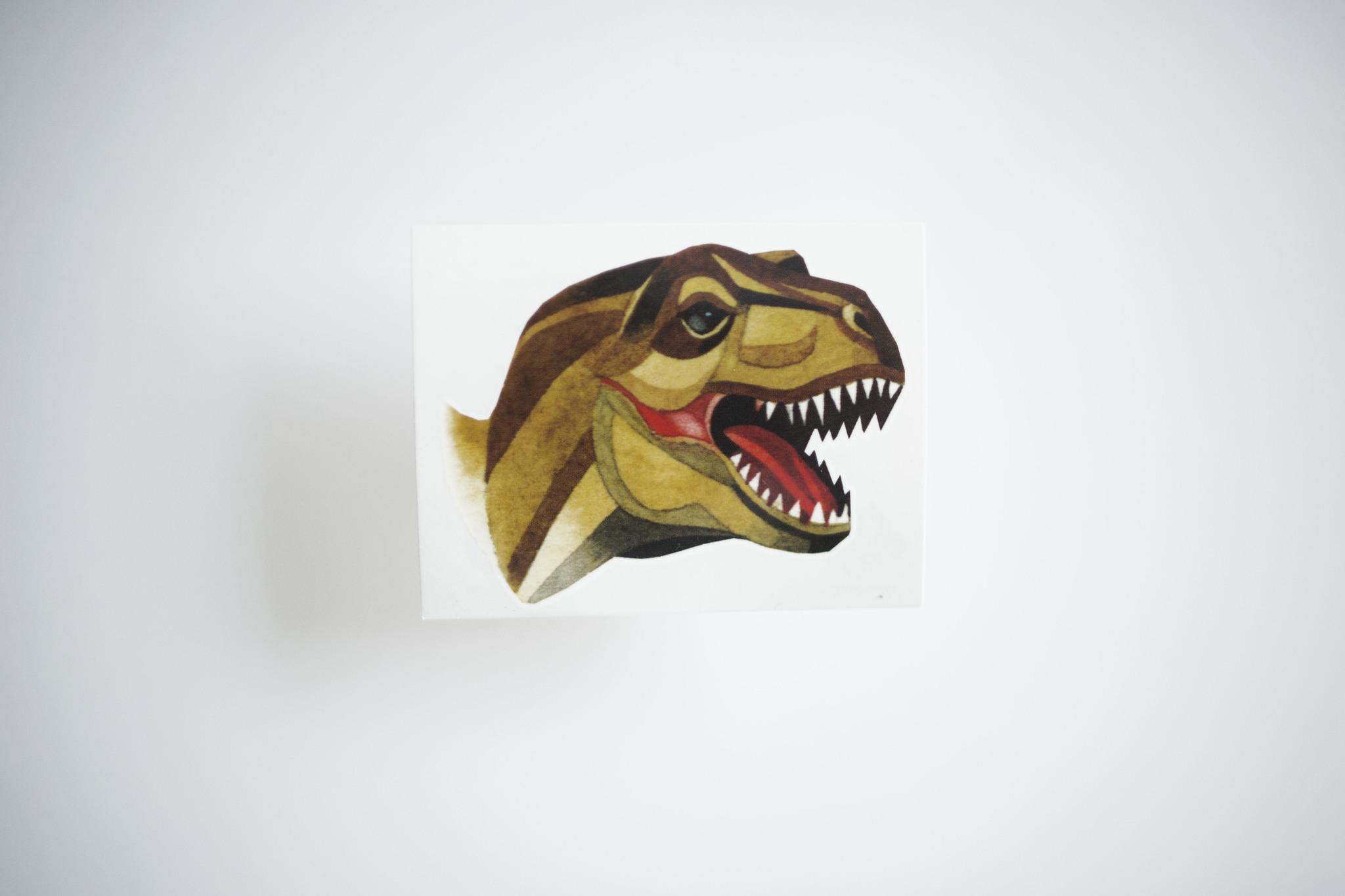 Переводная татуировка T-Rex