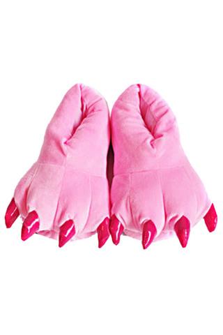 Тапки кигуруми розовые
