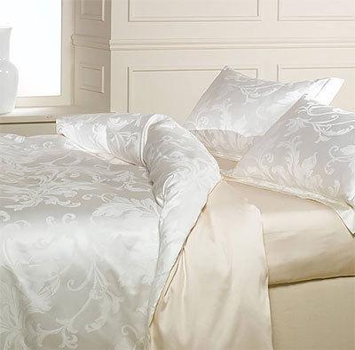 Комплекты постельного белья Постельное белье 2 спальное евро Caleffi Parsifal молочное postelnoe-belie-15-spalnoe-caleffi-parsifal-slonovoy-kosti-italiya.jpg