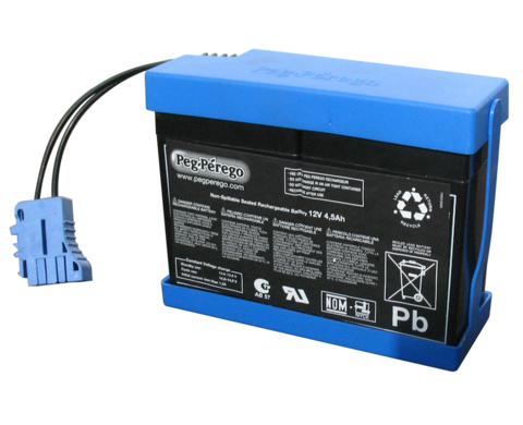 Аккумулятор для электромобилей Peg-Perego 12V 4.5Ah IAKB0026