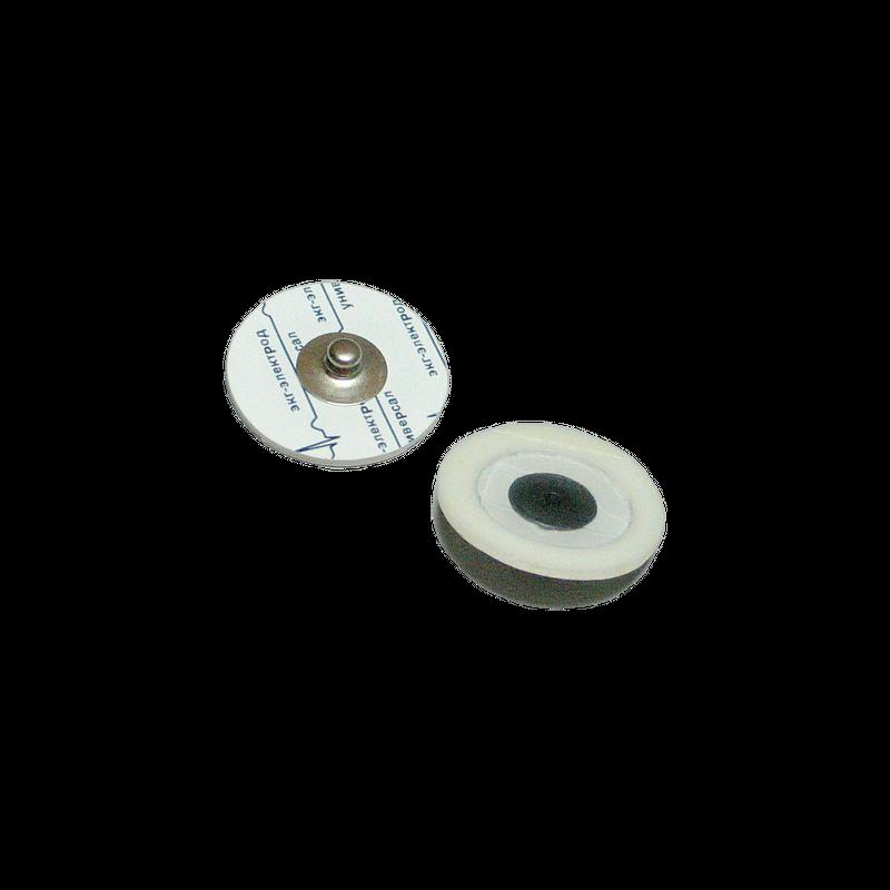 Электрод ЭКГ 24мм, одноразовый, универсал, педиатрический, Россия (7.9 руб/шт)