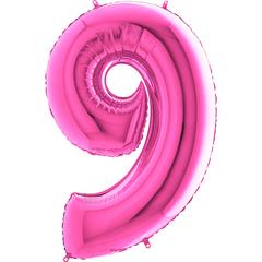 Цифра 9 (Фуксия)