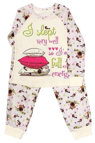 Basia К840-4103 Пижама для девочки с совушками