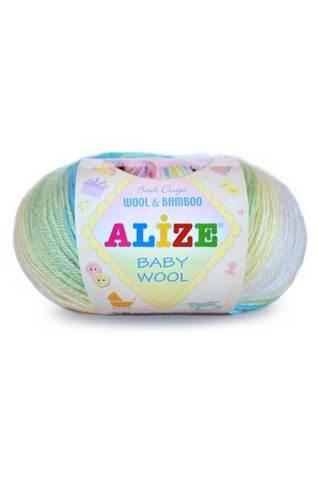 Купить Пряжа Alize Baby Wool Batik | Интернет-магазин пряжи «Пряха»