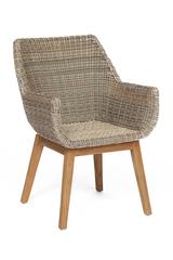 Кресло Secret De Maison Ураниум (Uranium) — натуральный серый