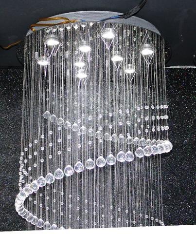 cristal  cascade chandelier  11-07  by Cristallino