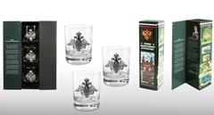 Подарочный набор стаканов для виски «Слава защитникам отечества»