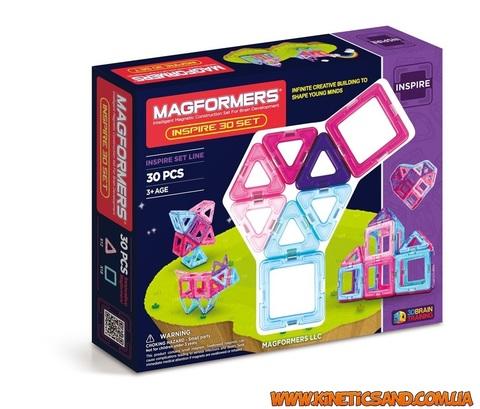 Magformers 30 элементов. Набор Вдохновение Магформерс