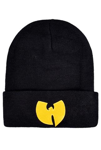 Шапка Wu-Tang черная с логотипом фото