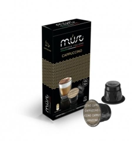 Must Cappucino (Капучино) Кофе в капсулах системы Nespresso  10шт.
