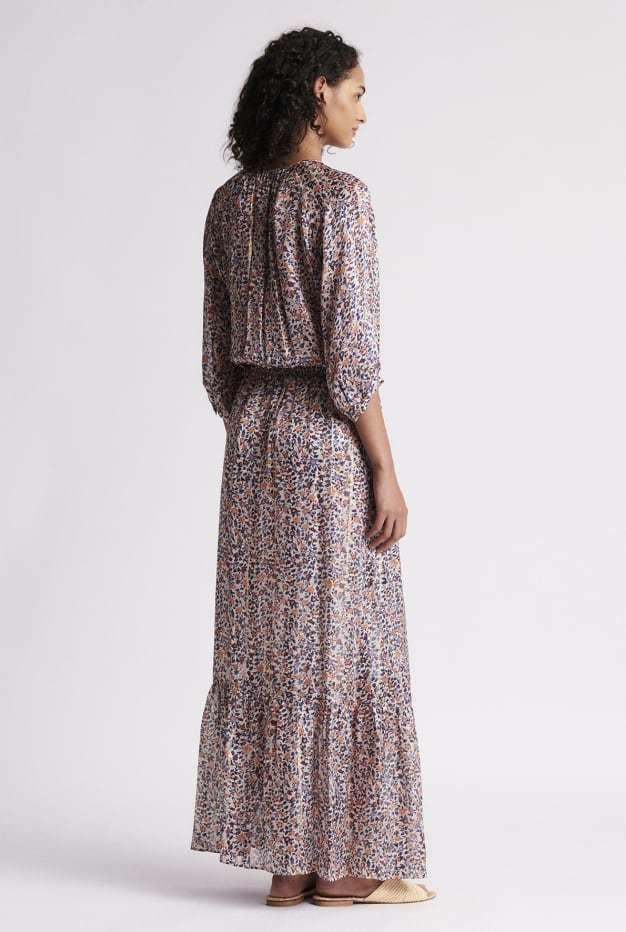 SALY - Длинное шёлковое платье