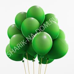 Зеленые воздушные шары