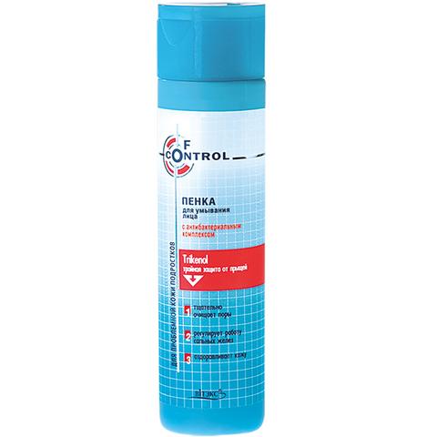 Витэкс F-control Пенка для умывания лица с антибактериальным комплексом 240 мл