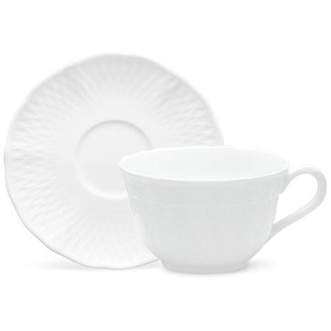 Чашка чайная с блюдцем 215мл