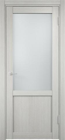 Дверь Eldorf Баден 04, стекло Сатинато, цвет слоновая кость, остекленная