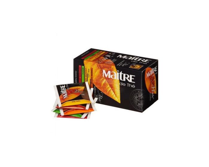 Чай в пакетиках Maitre Матэ ассорти, 25 пак./уп (Мэтр)