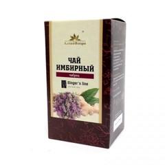 Чай имбирный, Алтай Флора, с чабрецом, фильтр-пакет, 20 шт*1,5 г.