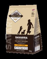 Корм для щенков SAVARRA Puppy Сухой с индейкой и рисом