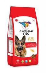 Корм для собак с высокой активностью «Счастливый пес» Энергия, с курицей и говядиной