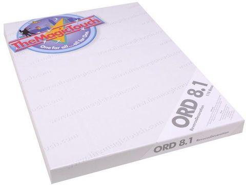 Трансферная бумага TheMagicTouch ORD 8.1 A4 - для стекла и акрила (50 листов)