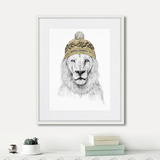 Балаш Солти - Lion in a hat