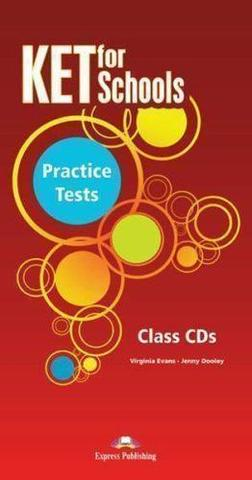 KET for Schools Practice Tests. Class Audio CDs (set of 5). Аудио CD (5 шт.)