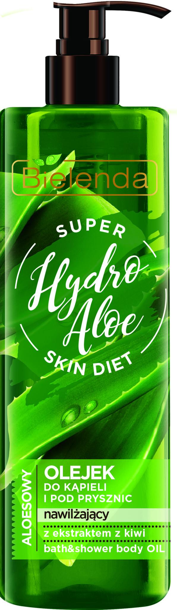 SUPER SKIN DIET Hydro Aloe увлажняющий гель для душа Алоэ 400мл