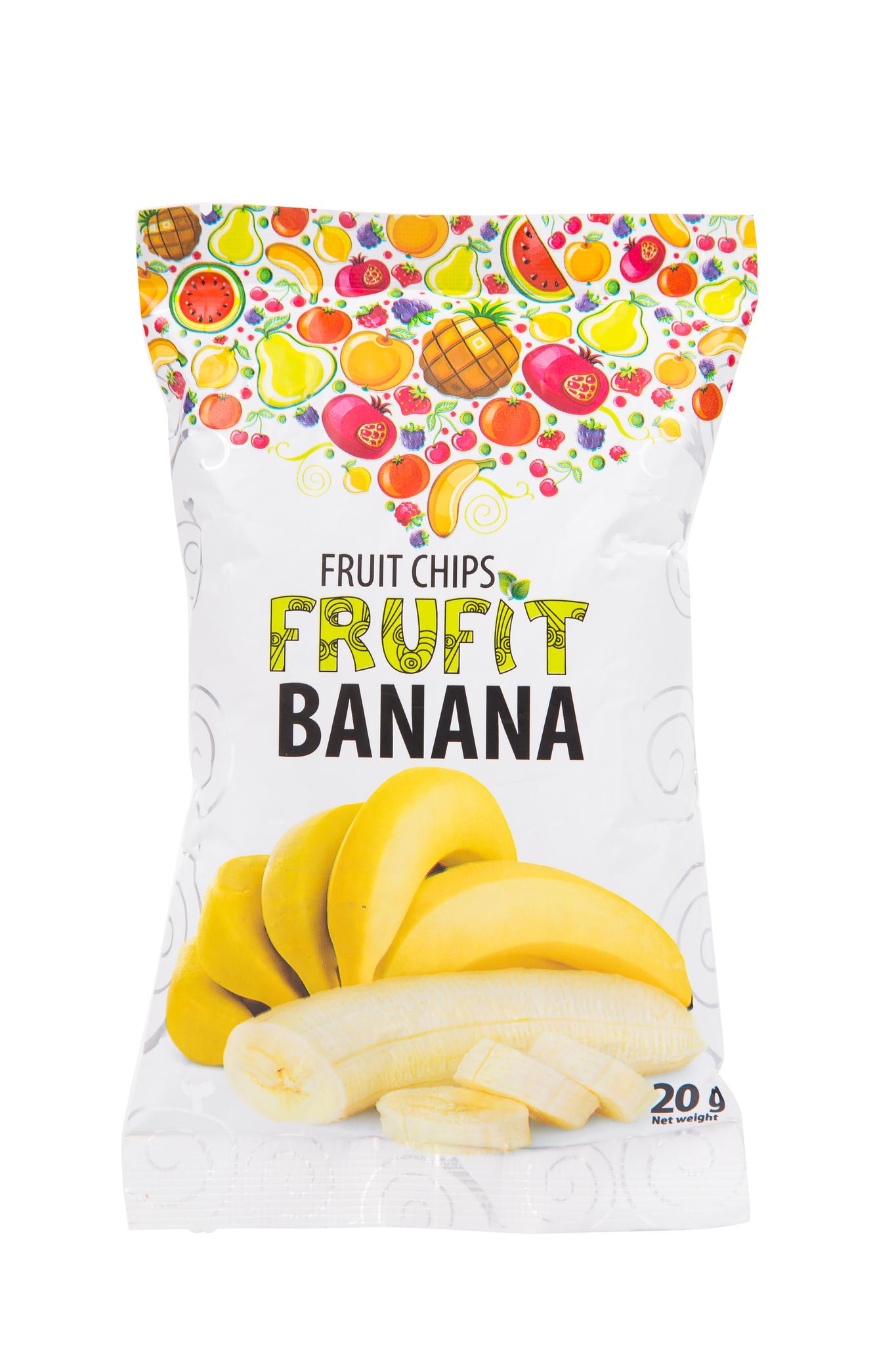 Фруктовые чипсы банановые