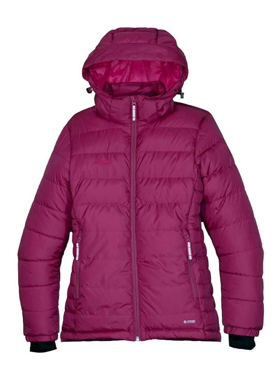 Bergans пуховик 7633 Rena Down Youth Girl Jacket Dusty Cerise