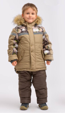 DAY Комплект для мальчика зимний S3240