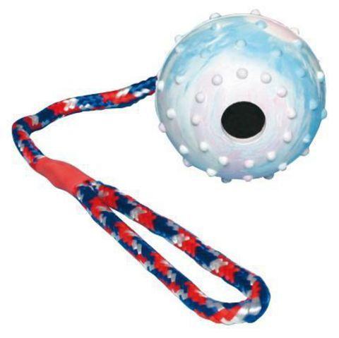 """Trixiе 3308 Игрушка д/собак """"мяч на веревке"""", натуральная резина ф7см*30см"""