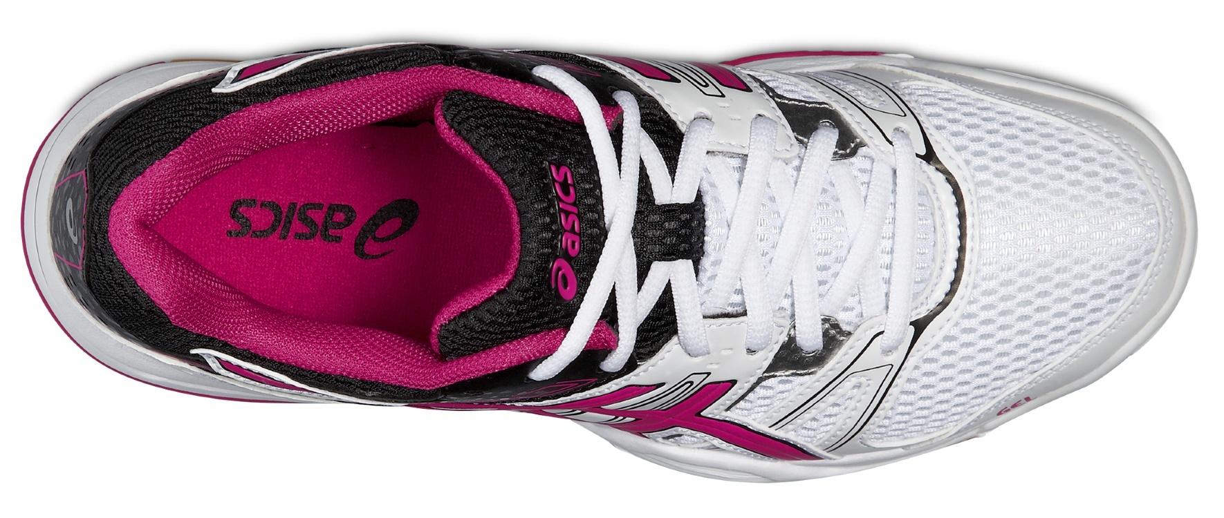 Женские кроссовки для волейбола Asics Gel-Rocket 7 (B455N 0125) белые фото