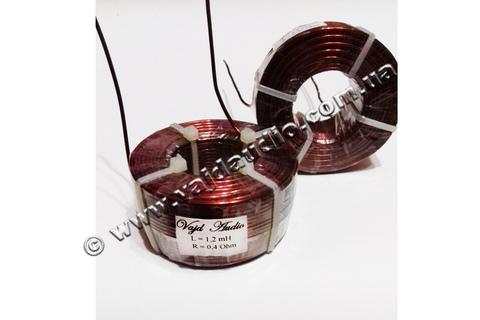 Катушка индуктивности Vajd Audio 1.2 mH* 0.4 Оhm* 1.4 mm