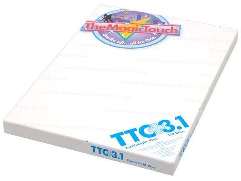 Трансферная бумага The MagicTouch TTC 3.1+ A4R - для плотных белых тканей