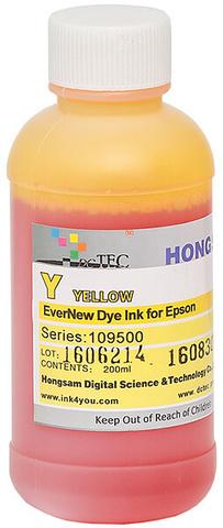 Чернила водные DCTec 7900D yellow dye  200мл. Серия 109500