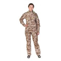 Женский противоэнцефалитный костюм Биостоп® - Премиум, песочный камуфляж