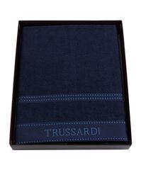 Набор полотенец 2 шт Trussardi Ribbon Blue