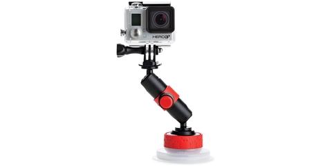 Крепление - присоска Joby Suction Cup & Locking Arm с камерой