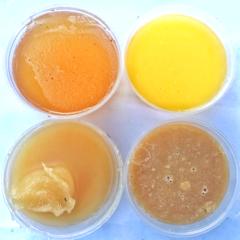 Сет из 4 видов домашнего меда 300 грамм