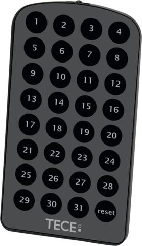 Пульт дистанционного управления для программирования TECElux Mini