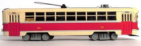 Трамвай РВЗ-6 (окрашенный, с мотором), НО