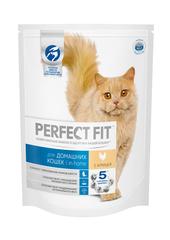 PERFECT FIT полноценный корм для кошек живущих дома с курицей