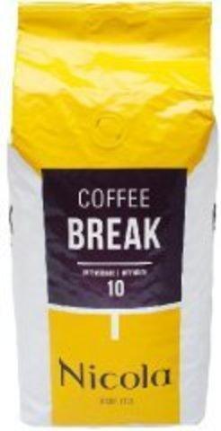 Nicola Coffee BREAK 1кг, кофе в зёрнах