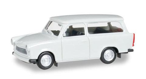 Herpa 020770-003 Модель автомобиля Trabant 601 S универсал, цвет светло-серый